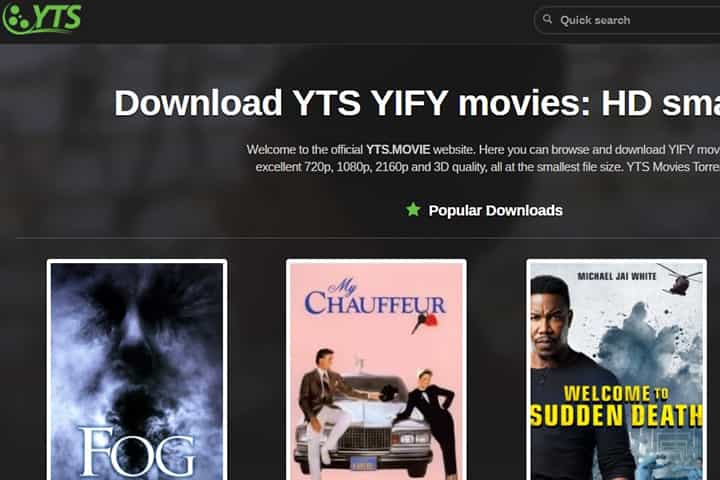 How To Download Movies From YTS or YIFY Torrents